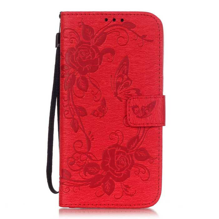 BLCR PU Leather + TPU Case for Samsung Galaxy S7 Edge - RedLeather Cases<br>Form ColorRedModelN/AMaterialPU + TPUQuantity1 DX.PCM.Model.AttributeModel.UnitShade Of ColorRedCompatible ModelsSamsung Galaxy S7 EdgeFeaturesAnti-slip,Shock-proof,Abrasion resistance,Easy-to-remove,Holder functionPacking List1 * Case1 * Strap(17cm)<br>