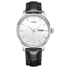 BUREI 700703 Men's Fashion Quartz Analog Wrist Watch w/ Calendar