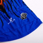 NUCKILY High Quality Men's Cycling Short Jersey + Short Pants - Blue