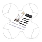 Spare Parts for Hubsan H107C+ -001 R/C Quadcopter - White + Black