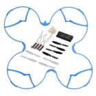 Spare Parts for Hubsan H107C+ -001 R/C Quadcopter - White + Blue
