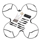 ABS + Aluminum Alloy Protection Cover + Propellers + CW / CCW Motors + 520mAh Battery Set