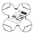 Spare Parts for Hubsan H107D+ -001 R/C Quadcopter - Black + Silver