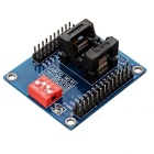 STM8S 8L TSSOP20 Burning Test Socket Programming Module - Blue