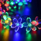 4.8W RGB Light 80-LED Flower Starry Twinkle Light Strip (33ft /AC110V)