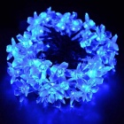 4.8W Blue Light 80-LED Flower Starry Light Strip (33ft / AC110V)