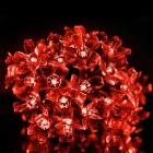 6W Red Light 100-LED Flower Starry Light Strip (33ft / AC 220V)