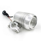 CS-112A1 12 ~ 80V moto LED phare blanc froid - argent (12-80V)