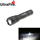 Ultrafire 502B 3-Mode 889lm Cold White Outdoor Flashlight - Black