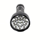 KINFIRE K1200S L2 12-LED 8700lm 5-Mode torcia - nero (6 * 18650)