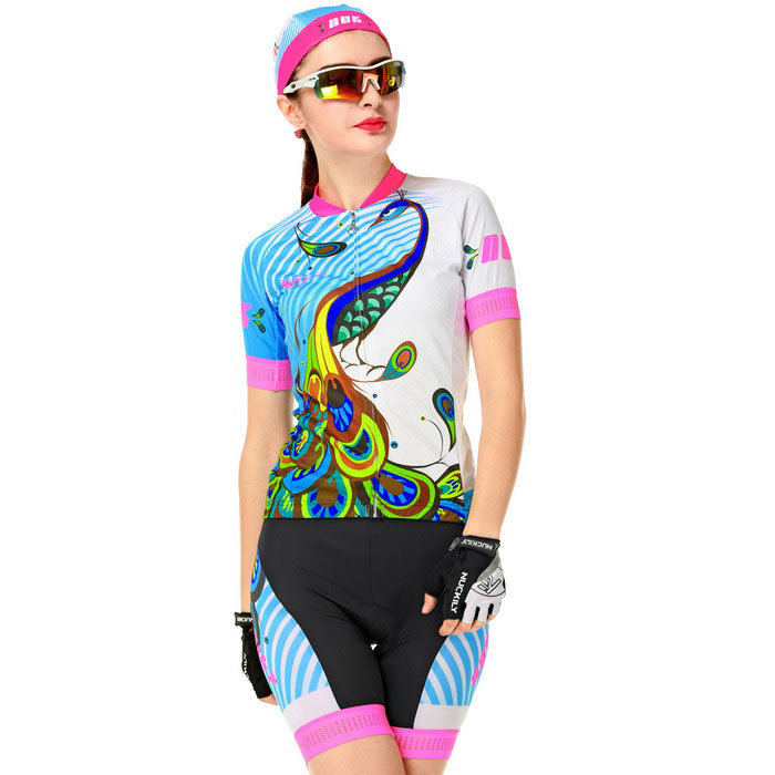 d58f2b9f8 ... NUCKILY High Quality Girl s Cycling Jersey + Short Pants - Camouflage  ...