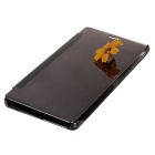 Mirror Cover Protective Flip Case for Huawei P9 - Black