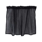 ZIQIAO Car Sun Shade Window Car Window Mesh Interlock Curtain - Black