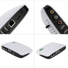 Smart TV Player Android TV Box avec 1 Go de RAM, ROM 8 Go - Blanc + Noir