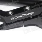 Cool Change T Type Bicycle Flashlight Holder - Black