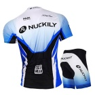 NUCKILY Outdoor Cycling Short-Sleeve Jersey + Short Pants
