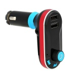 Automotive FM Transmitter Dual USB Car Charger w/ Bluetooth Hands-free