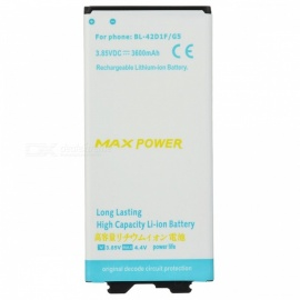 3600mAh Li-ion Battery Compatible for LG G5/BL-42D1F - White + Blue