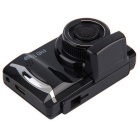 GT800 HD Night Vision 1080P Wide-angle Mini Car Recorder - Black