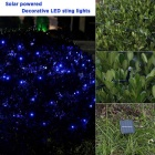 66ft 200LED 8W Solar angetriebene dekorative LED Twinkle String Light