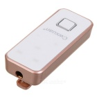 Cwxuan Collar Clip-on In-ear Stereo Bluetooth Earphone - Rose Gold