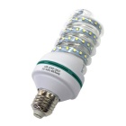E27 16W 1280lm 80-2835 SMD Spiral Style CFL Cold White Light Bulb