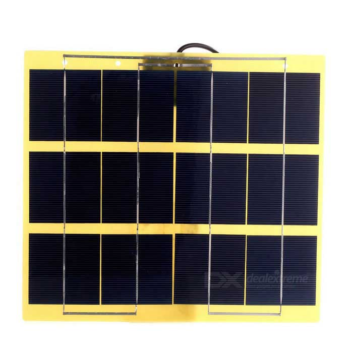 SUNWALK 5W 5V USB Output Monocrystalline Silicon Solar ChargerSolar Powered Gadgets<br>Form  ColorYellow + Gun BlackModelSWB505UMaterialMonocrystalline silicon Glass fiber  Laminated boardQuantity1 DX.PCM.Model.AttributeModel.UnitPower5 DX.PCM.Model.AttributeModel.UnitWorking Voltage   5 DX.PCM.Model.AttributeModel.UnitWorking Current1 DX.PCM.Model.AttributeModel.UnitOther FeaturesMaterialMonocrystalline silicon Glass fiber  Laminated board; <br>Conversion rate: 17%Packing List1 * Solar Charger<br>