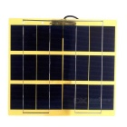 5W 5V USB Output Monocrystalline Silicon Glass Fiber Solar Charger for Mobile Phone