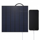 4.5W 5V USB output monocrystalline silicon solar panel charger