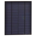 SUNWALK 5.5W 12V Output Polycrystalline Silicon Solar Panel - Black