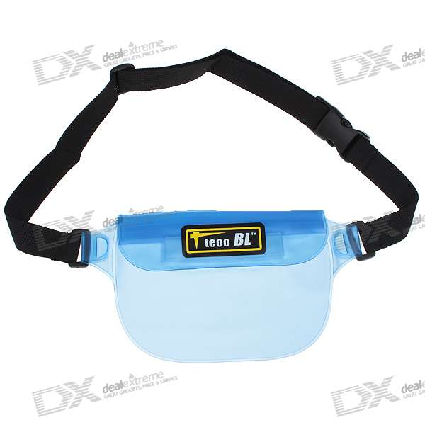 Waterproof Waist Bag/Fanny Pack for Raining Day/Rafting Activity