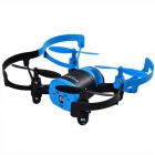 JXD 512 4CH 6-Axis Mini Quadcopter RC com câmera de 0.3MP - Preto + Azul