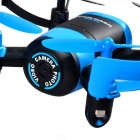 JXD 512 de 4 canales 6-Axis Mini RC Quadcopter w / cámara de 0,3 MP - Negro + Azul