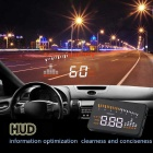 universell kjøretøy head up display - svart