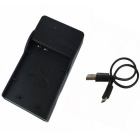 EL23 Micro USB Mobile Camera Battery Charger for Nikon - Black