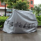 Rainproof Dustproof Cover for Bicycle / Motorcycle - Gray