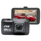 eDaoYou a101 1920 * 1080P Full HD 170° Wide-angle Car DVR - Black