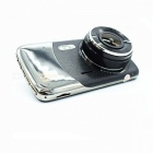 "KELIMA 1080P High Clear 4.0"" TFT Car DVR - Black + Silver"