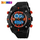 SKMEI 1156 Men's 50M Waterproof Multifunction Sport Watch - Orange