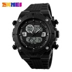 SKMEI 1156 50M Waterproof multifunções Sports Watch - Black