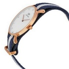 Daniel Wellington kvinnor 0953DW Rose guld-Tone Watch med nylonband
