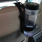 ZIQIAO Adjustable Flexible Beverage Cup Holder - Black
