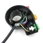 CS-004 Motorcycle Signal Switch Horn Headlight Switch - Black + Yellow