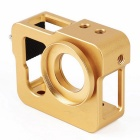 Golden Metal CNC Aluminium Protective Case Shell for GoPro Hero 4 / 3+