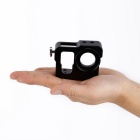 Metal CNC Aluminium Protective Case Shell for GoPro Hero4 HER - Black