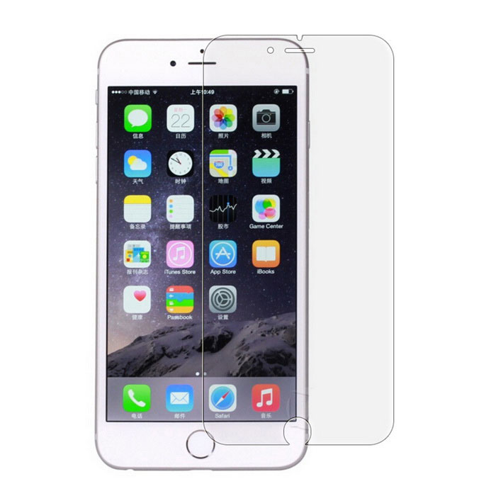Screen protector Tempered Glass Film for iPhone 7 Plus - TransparentScreen Protectors<br>Screen TypeClearQuantity1 DX.PCM.Model.AttributeModel.UnitMaterialGlassForm ColorTransparentCompatible ModelsOthers,iPhone 7 plusStyleScreen protectorScreen FeaturesScratch Proof,Explosion ProofPacking List1 * Membrane1 * Dust sticker2 * Cleaning cloths<br>