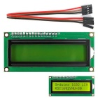 I2C / IIC LCD 1602 Yellow-green Display Module w/ 4P Wire for Arduino