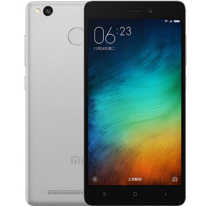 Xiaomi Redmi 3s Android 5.1 4G Phone w/ 2GB RAM, 16GB ROM - Grey