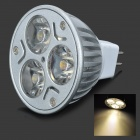 MR16 3W 3-LED 2800K 210-Lumen Ceiling LED Light Bulb - Warm White (12V)