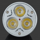 MR16 3-LED 3W 210lm 2800K varm vit taklampa (12V)